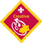 The Creative Challenge Badge for Cubs