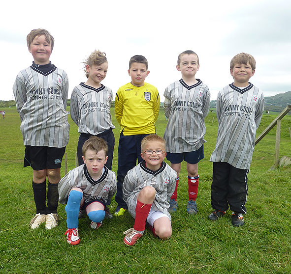 St Stephens Cub Group Football Team